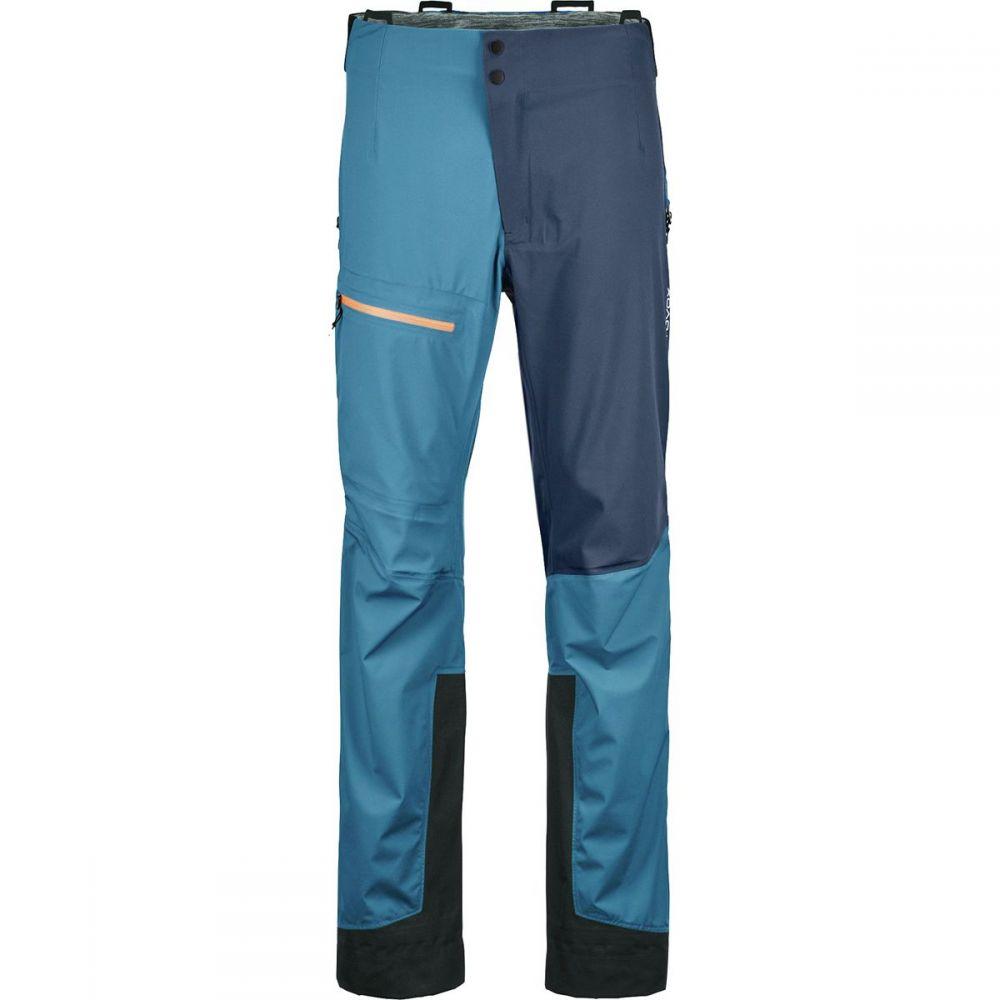 オルトボックス Ortovox メンズ スキー・スノーボード ボトムス・パンツ【3l ortler pant】Blue Sea