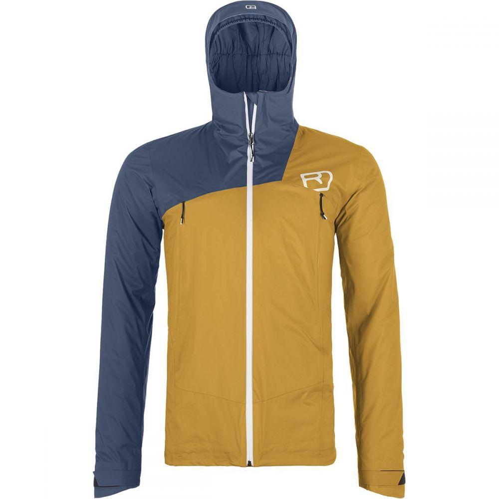 オルトボックス Ortovox メンズ スキー・スノーボード ジャケット アウター【swisswool leone 2l jacket】Yellowstone