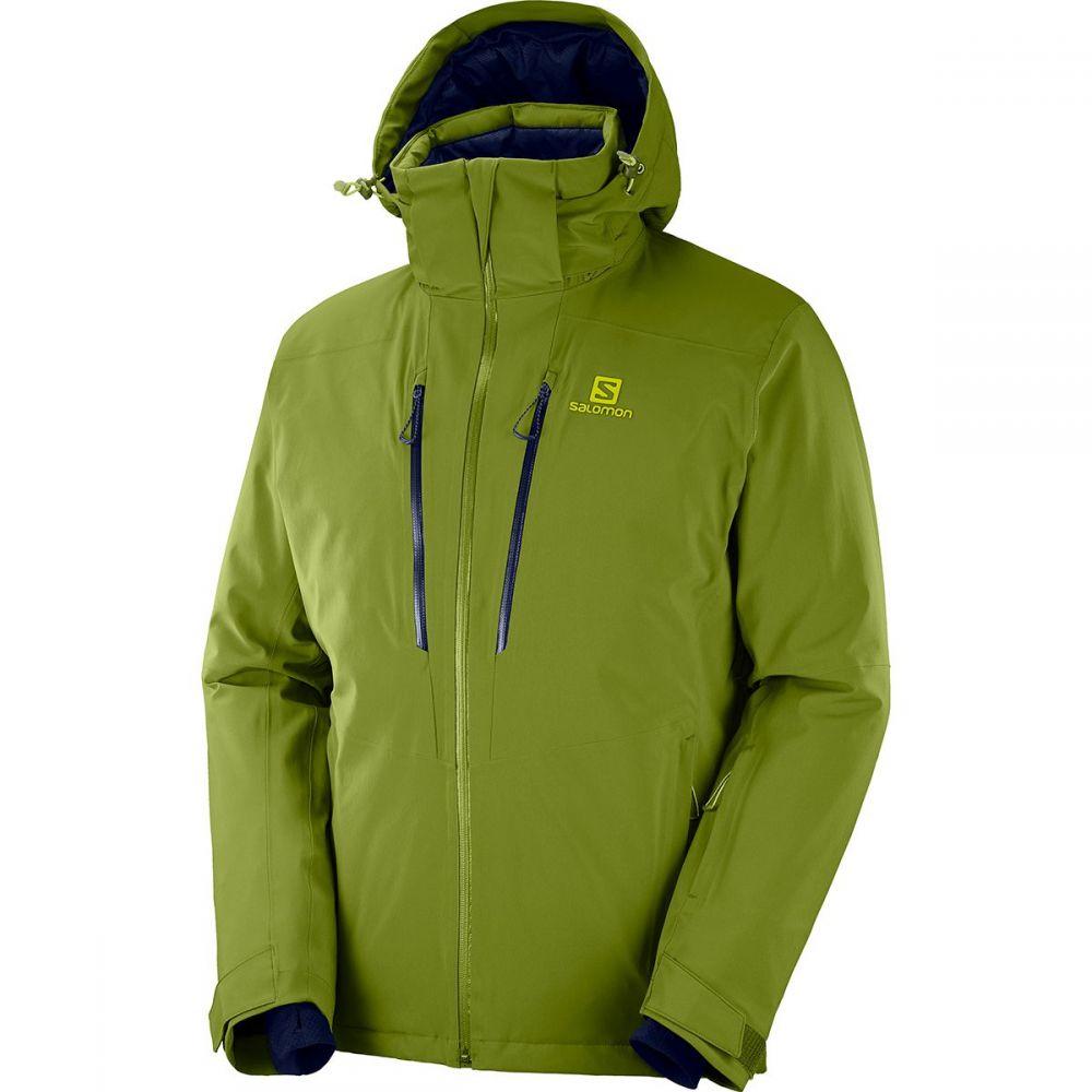 サロモン Salomon メンズ スキー・スノーボード ジャケット アウター【icefrost jacket】Avocado