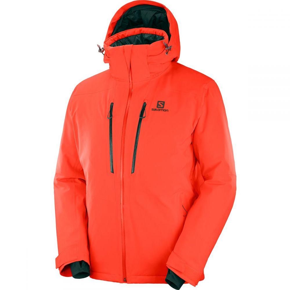 サロモン Salomon メンズ スキー・スノーボード ジャケット アウター【icefrost jacket】Cherry Tomato
