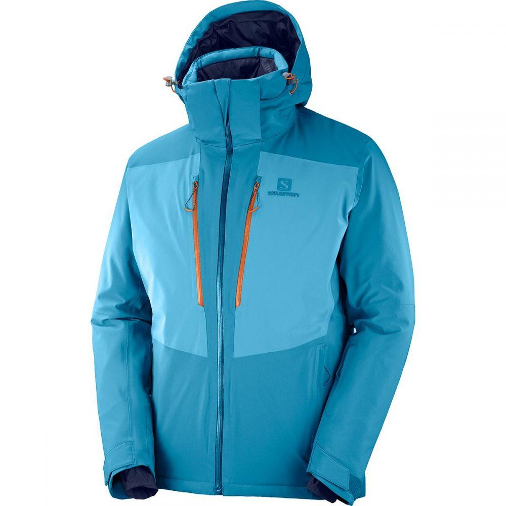 サロモン Salomon メンズ スキー・スノーボード ジャケット アウター【icefrost jacket】Lyons Blue/Fjord Blue