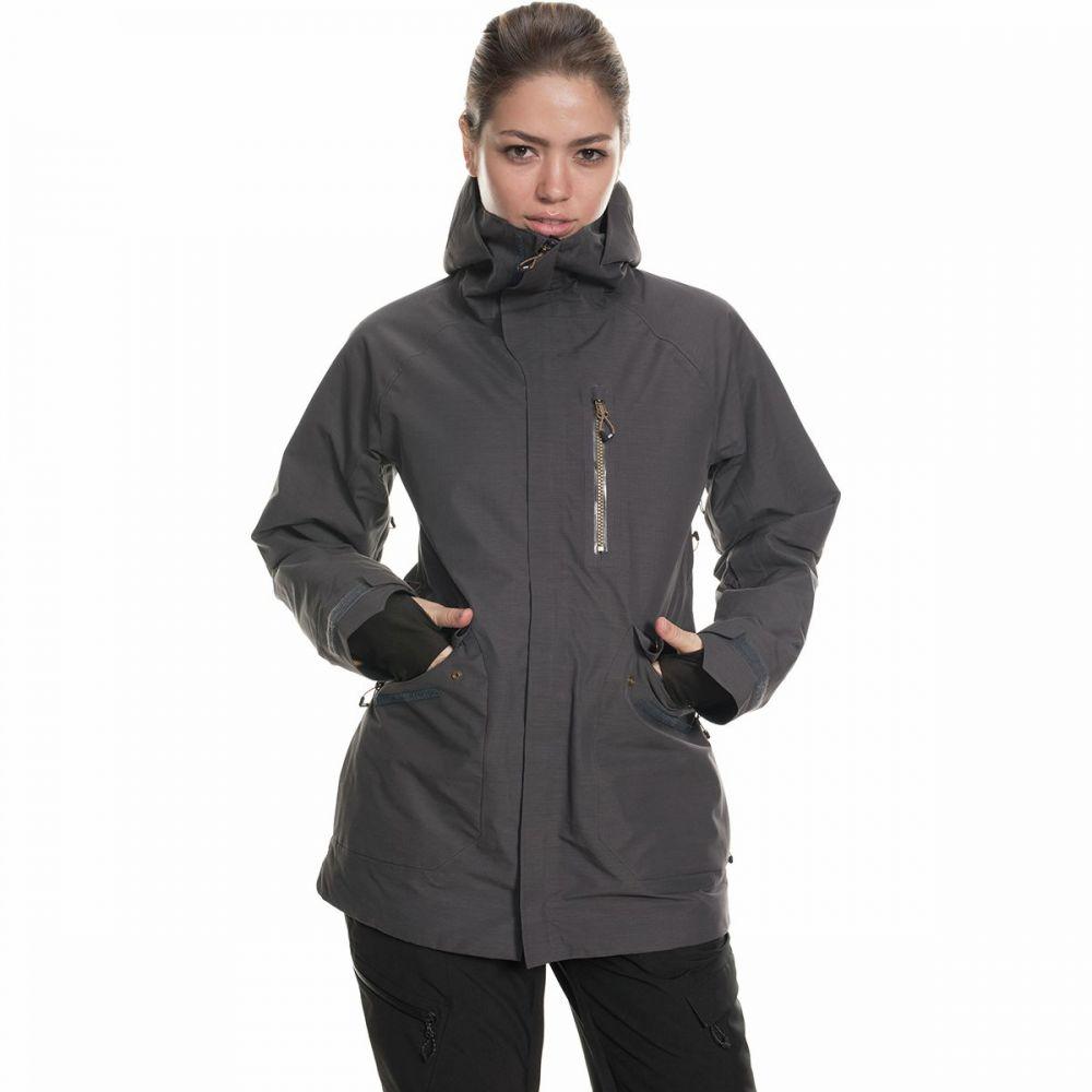 シックス エイト シックス 686 レディース スキー・スノーボード ジャケット アウター【moonlight gore - tex jacket】Charcoal Texture