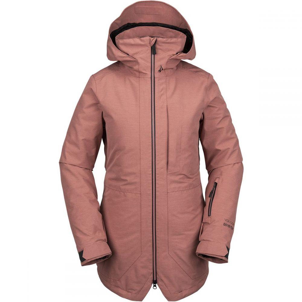 ボルコム Volcom レディース スキー・スノーボード ジャケット アウター【iris 3 - in - 1 gore jacket】Mauve