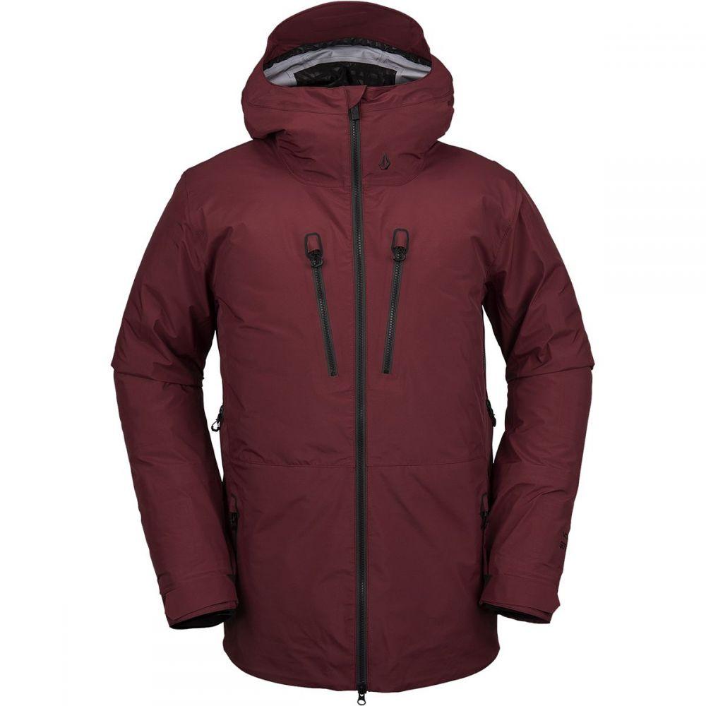ボルコム Volcom メンズ スキー・スノーボード ジャケット アウター【tds infrared gore - tex hooded jacket】Burnt Red