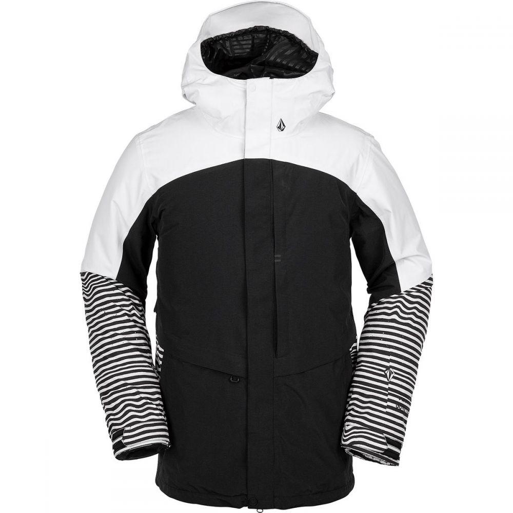 ボルコム Volcom メンズ スキー・スノーボード ジャケット アウター【tds 2l gore - tex jacket】Black Stripe