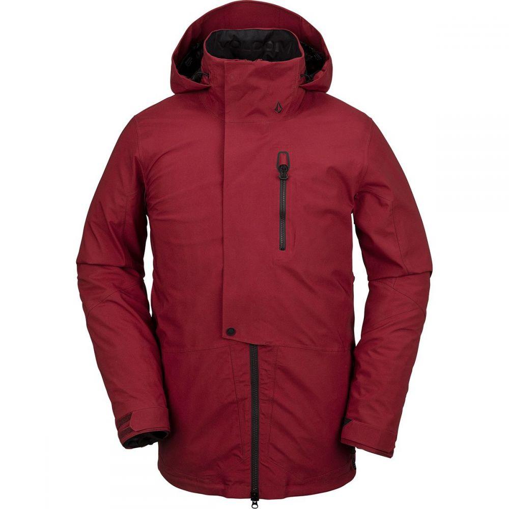 ボルコム Volcom メンズ スキー・スノーボード ジャケット アウター【bl stretch gore hooded jacket】Burnt Red