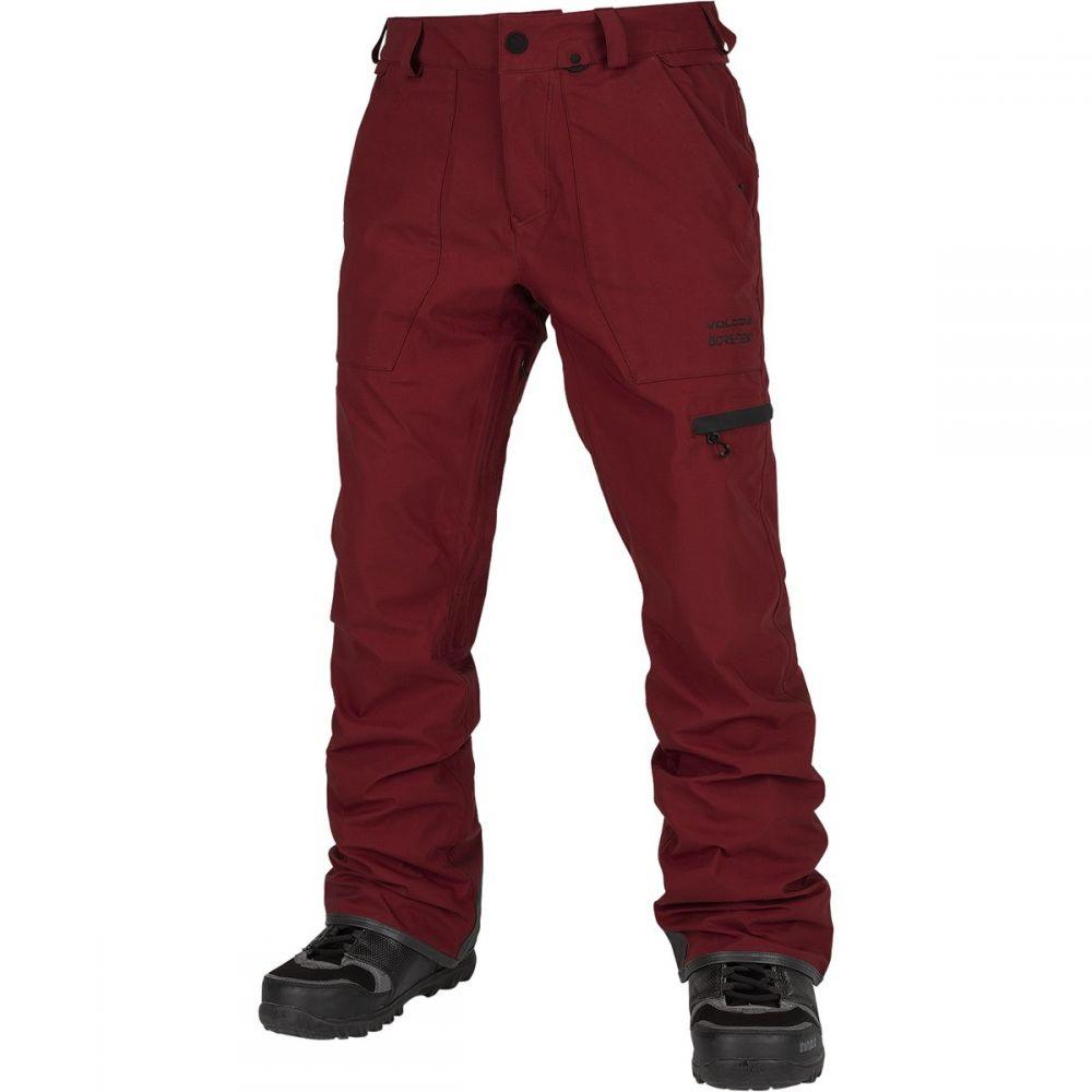 ボルコム Volcom メンズ スキー・スノーボード ボトムス・パンツ【stretch gore - tex pant】Burnt Red