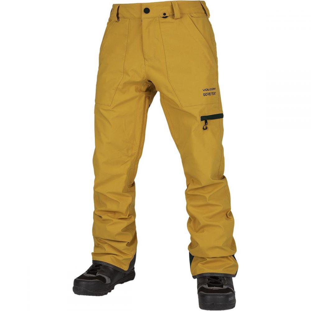 ボルコム Volcom メンズ スキー・スノーボード ボトムス・パンツ【stretch gore - tex pant】Resin Gold