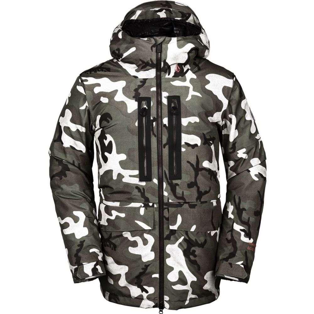 ボルコム Volcom メンズ スキー・スノーボード ジャケット アウター【stone gore - tex hooded jacket】Gi Camo