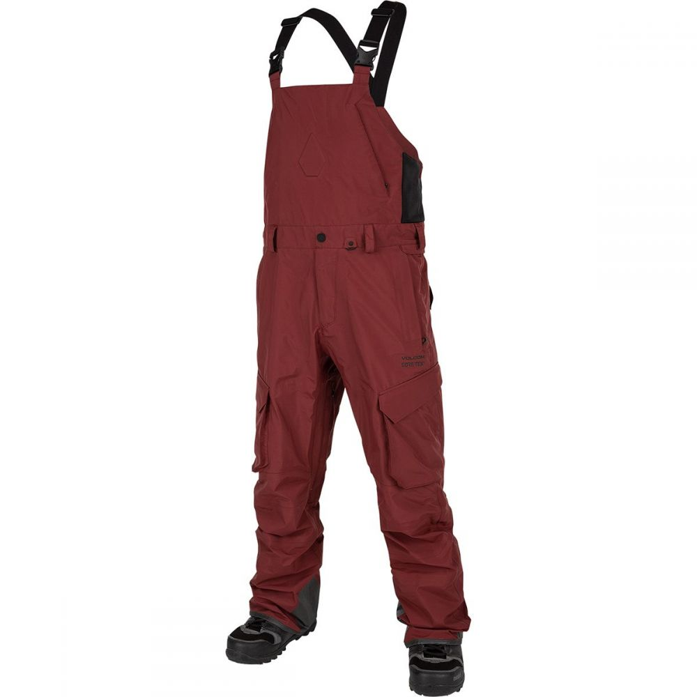 ボルコム Volcom メンズ スキー・スノーボード ボトムス・パンツ【3l gore - tex overall pant】Burnt Red
