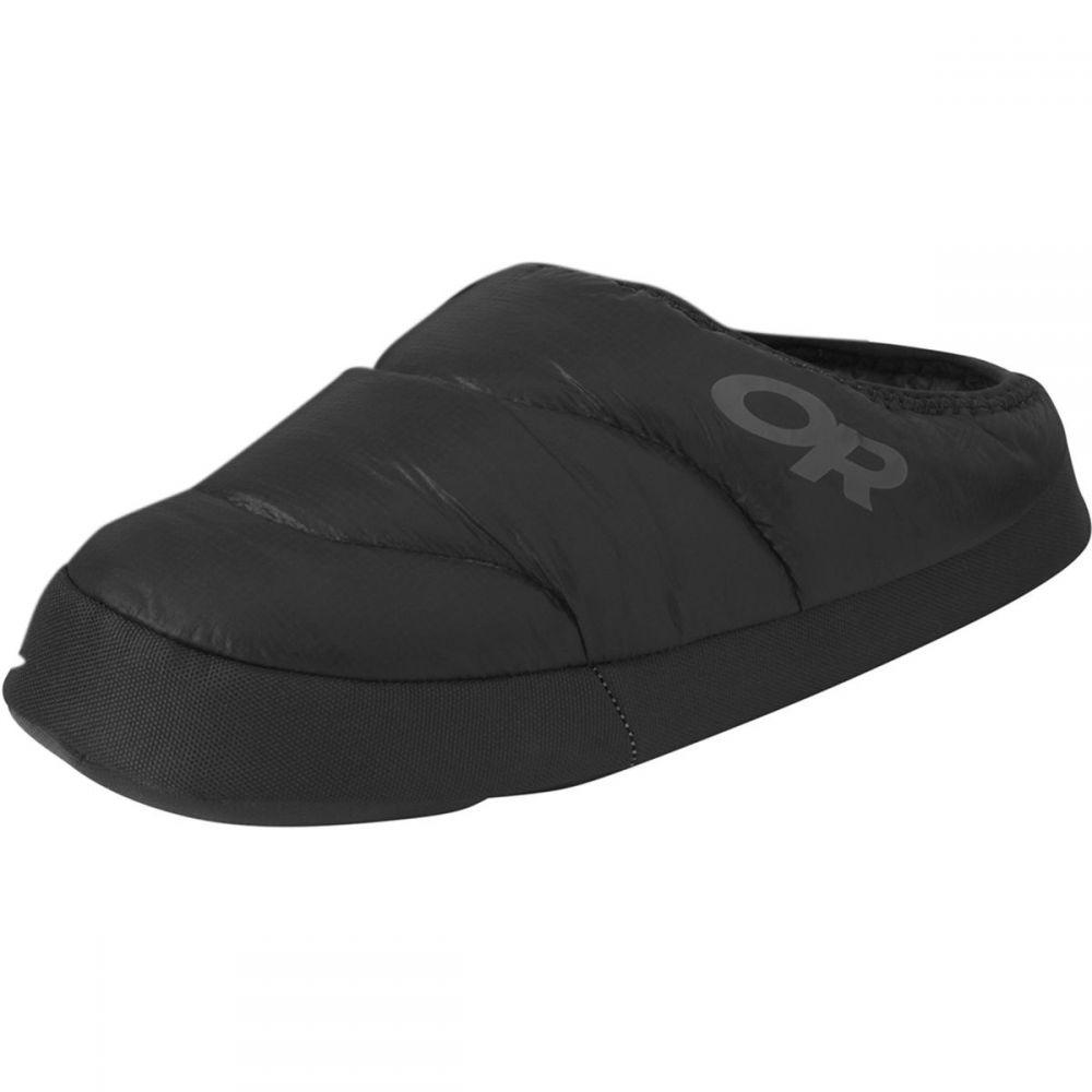 アウトドアリサーチ Outdoor Research メンズ ブーツ ブーティー シューズ・靴【Tundra Slip - On Aerogel Booties】Black