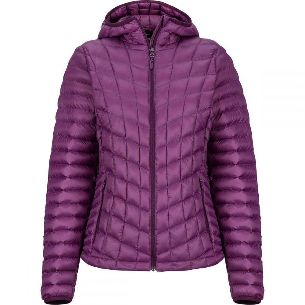 マーモット Marmot レディース ジャケット フード アウター【Featherless Hooded Insulated Jacket】Dark Purple