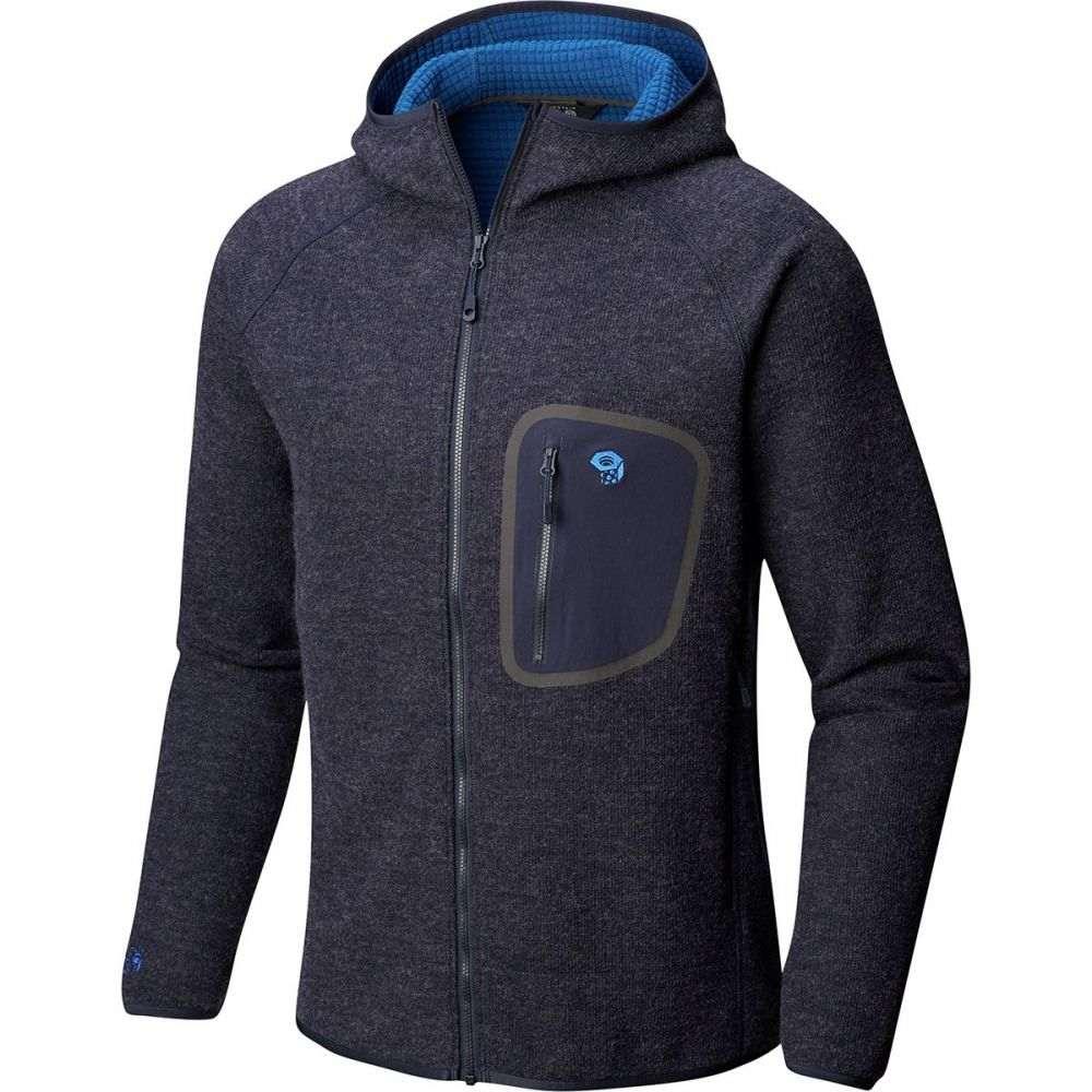 マウンテンハードウェア Mountain Hardwear メンズ フリース フード トップス【Hatcher Full - Zip Hooded Jacket】Dark Zinc