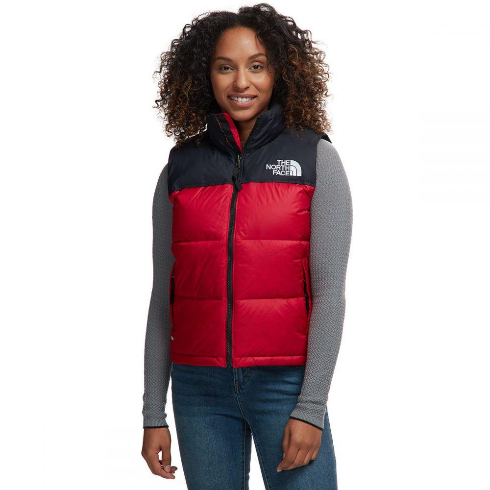 ザ ノースフェイス レディース トップス ベスト・ジレ Tnf Red 【サイズ交換無料】 ザ ノースフェイス The North Face レディース ベスト・ジレ トップス【1996 Retro Nuptse Vest】Tnf Red