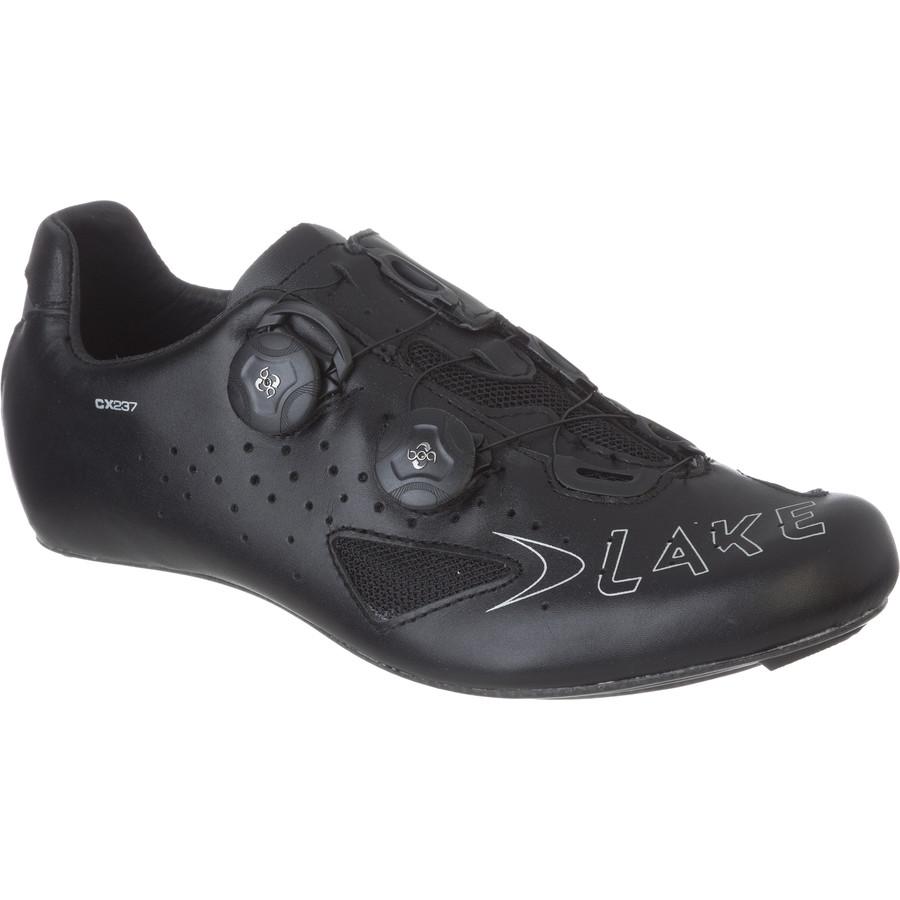 レイク Lake メンズ サイクリング シューズ・靴【CX237 Road Shoes】Black