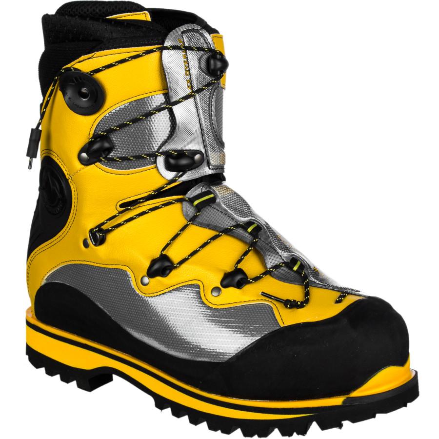 ラスポルティバ La Sportiva メンズ 登山 シューズ・靴【Spantik Mountaineering Boot】Yellow/Grey/Black