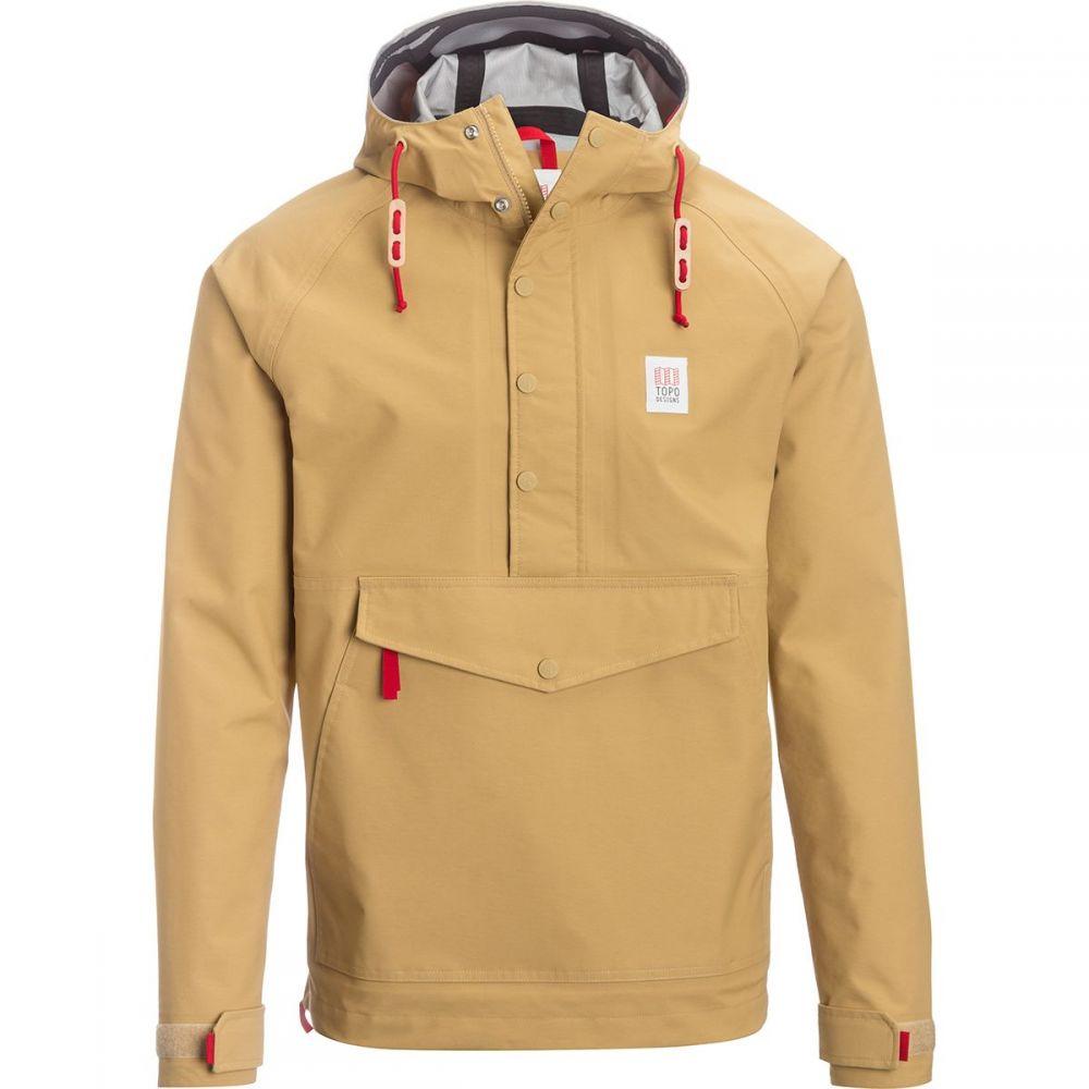 トポ デザイン Topo Designs メンズ ジャケット アノラック アウター【Anorak Jacket】Tan