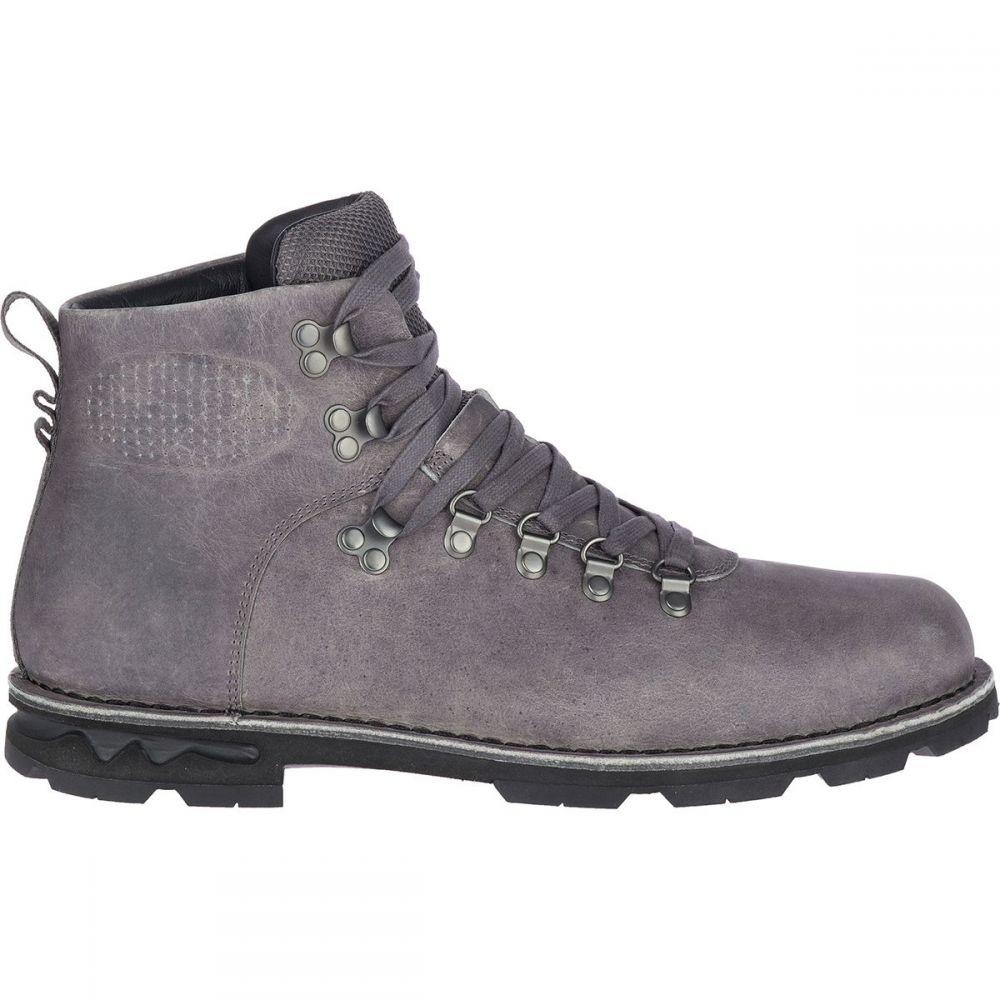 メレル Merrell メンズ ブーツ シューズ・靴【Sugarbush Braden Mid Leather Waterproof Boot】Granite