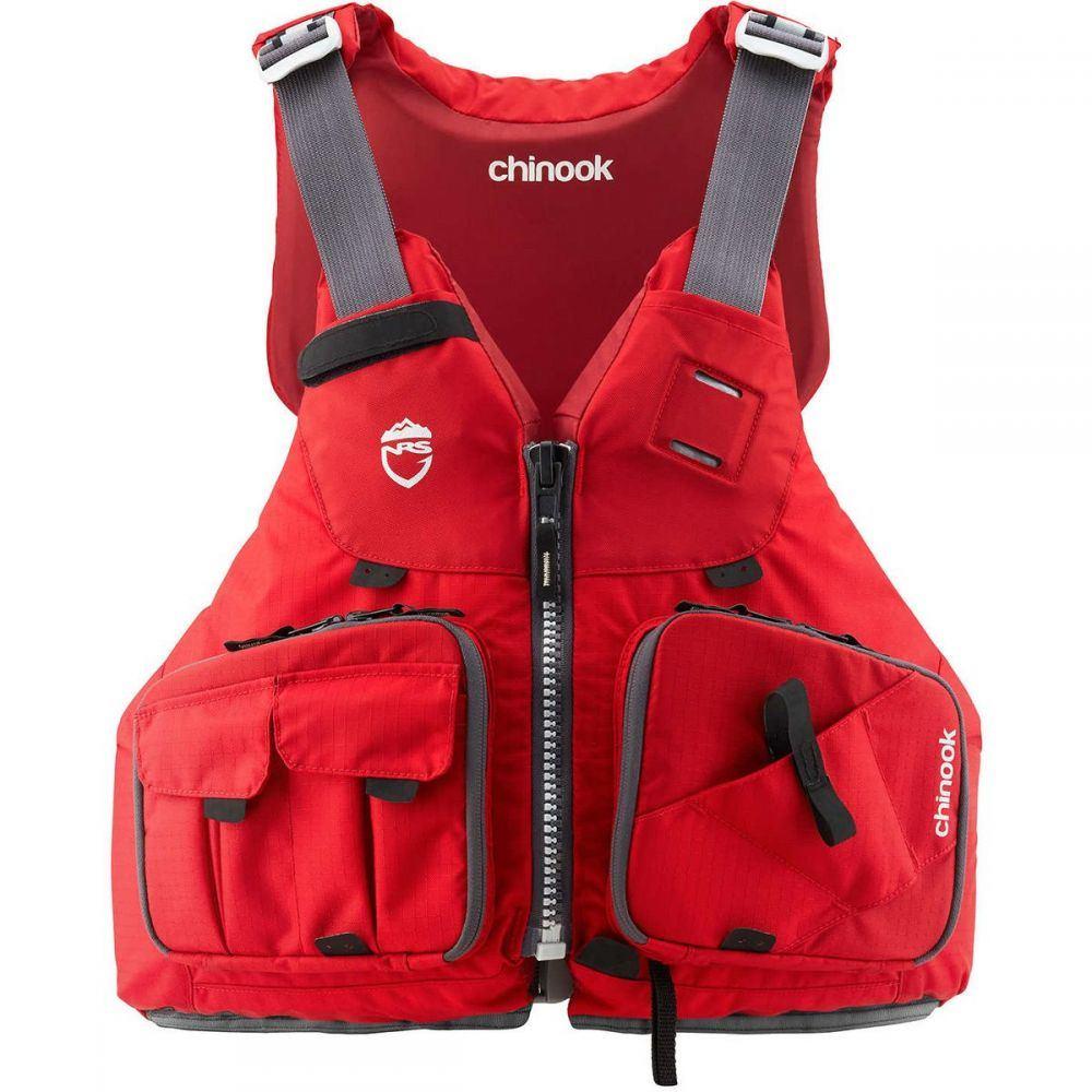 エヌアールエス NRS メンズ トップス【Chinook Personal Flotation Device】Red