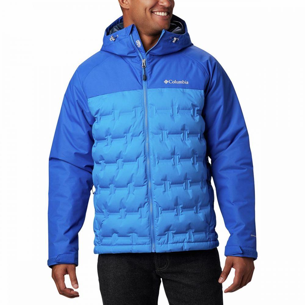 コロンビア Columbia メンズ ダウン・中綿ジャケット アウター【Grand Trek Down Jacket】Azure Blue/Azul