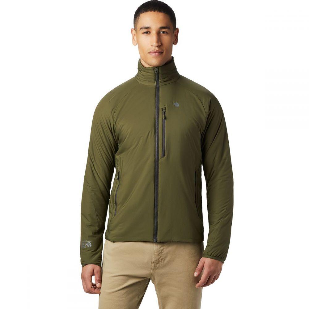 マウンテンハードウェア Mountain Hardwear メンズ ジャケット アウター【Kor Strata Jacket】Dark Army