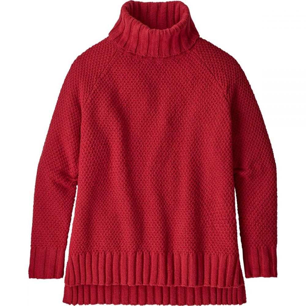 パタゴニア レディース トップス ニット・セーター Rincon Red 【サイズ交換無料】 パタゴニア Patagonia レディース ニット・セーター トップス【Off Country Turtleneck Sweater】Rincon Red