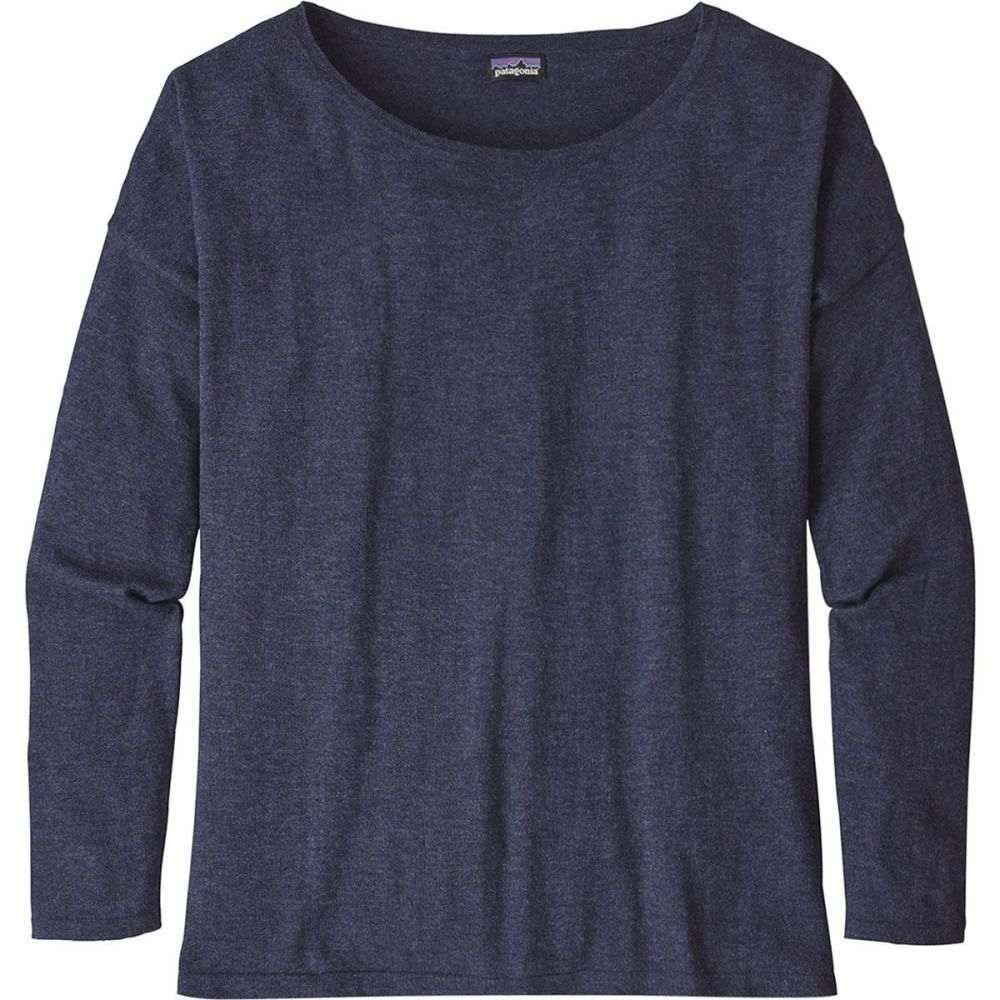 パタゴニア レディース トップス ニット・セーター Navy Blue 【サイズ交換無料】 パタゴニア Patagonia レディース ニット・セーター トップス【Low Tide Sweater】Navy Blue