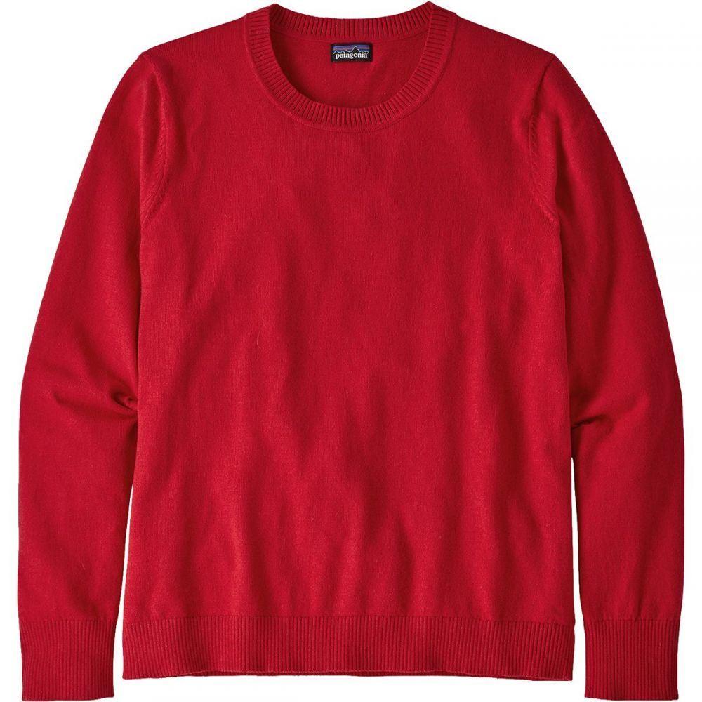 パタゴニア レディース トップス ニット・セーター Rincon Red 【サイズ交換無料】 パタゴニア Patagonia レディース ニット・セーター トップス【Andri Crew Sweater】Rincon Red