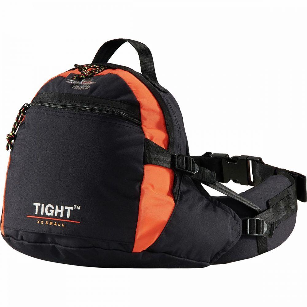 ホグロフス Haglofs メンズ ボディバッグ・ウエストポーチ ウエストバッグ バッグ【Tight Original XX - Small Hip Pack】True Black/Orange