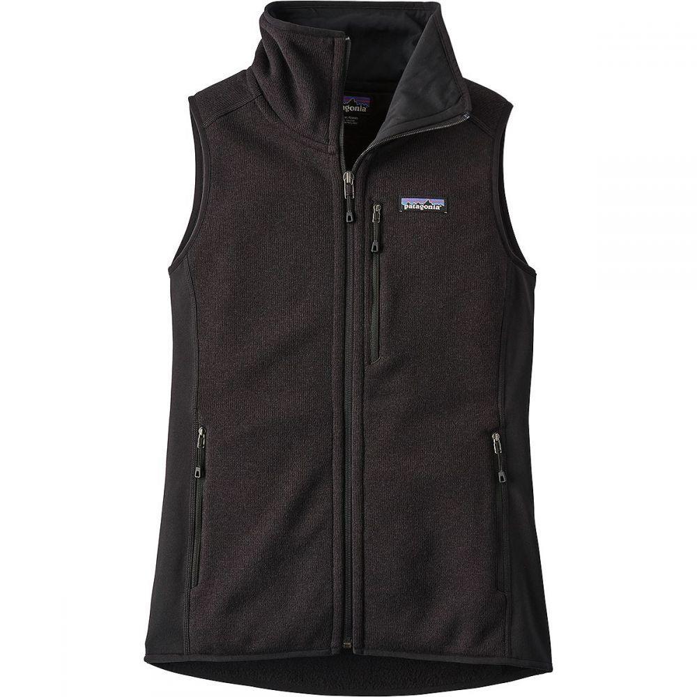 パタゴニア レディース トップス ベスト・ジレ Black 【サイズ交換無料】 パタゴニア Patagonia レディース ベスト・ジレ トップス【Performance Better Sweater Vest】Black