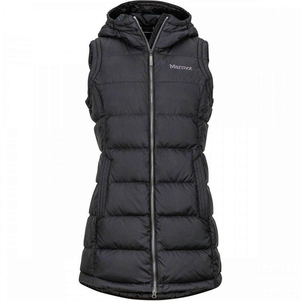 マーモット Marmot レディース ベスト・ジレ トップス【Ithaca Hooded Vest】Black