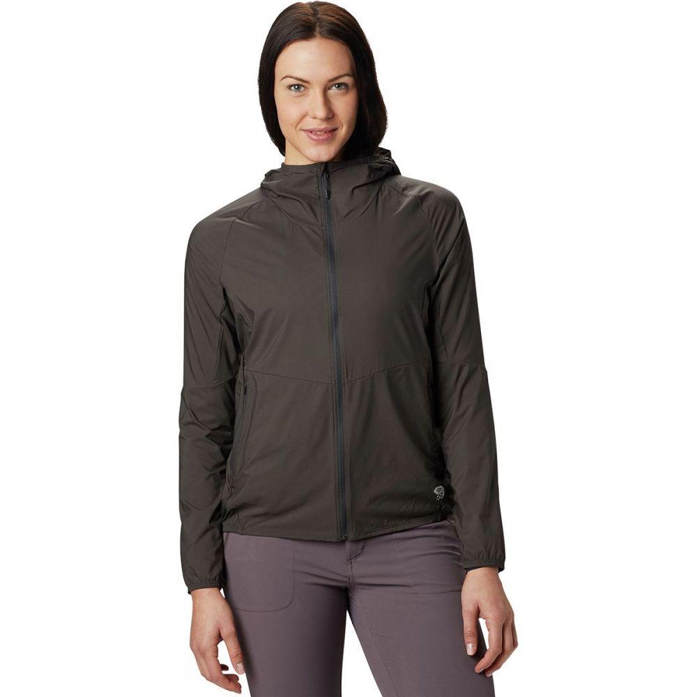 マウンテンハードウェア Mountain Hardwear レディース ジャケット フード アウター【Kor Preshell Hooded Jacket】Void