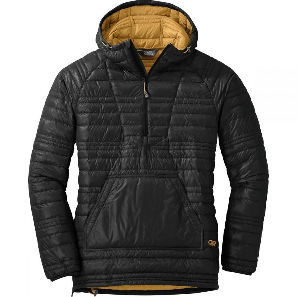 アウトドアリサーチ Outdoor Research レディース ダウン・中綿ジャケット アウター【Down Baja Pullover Jacket】Black/Honey