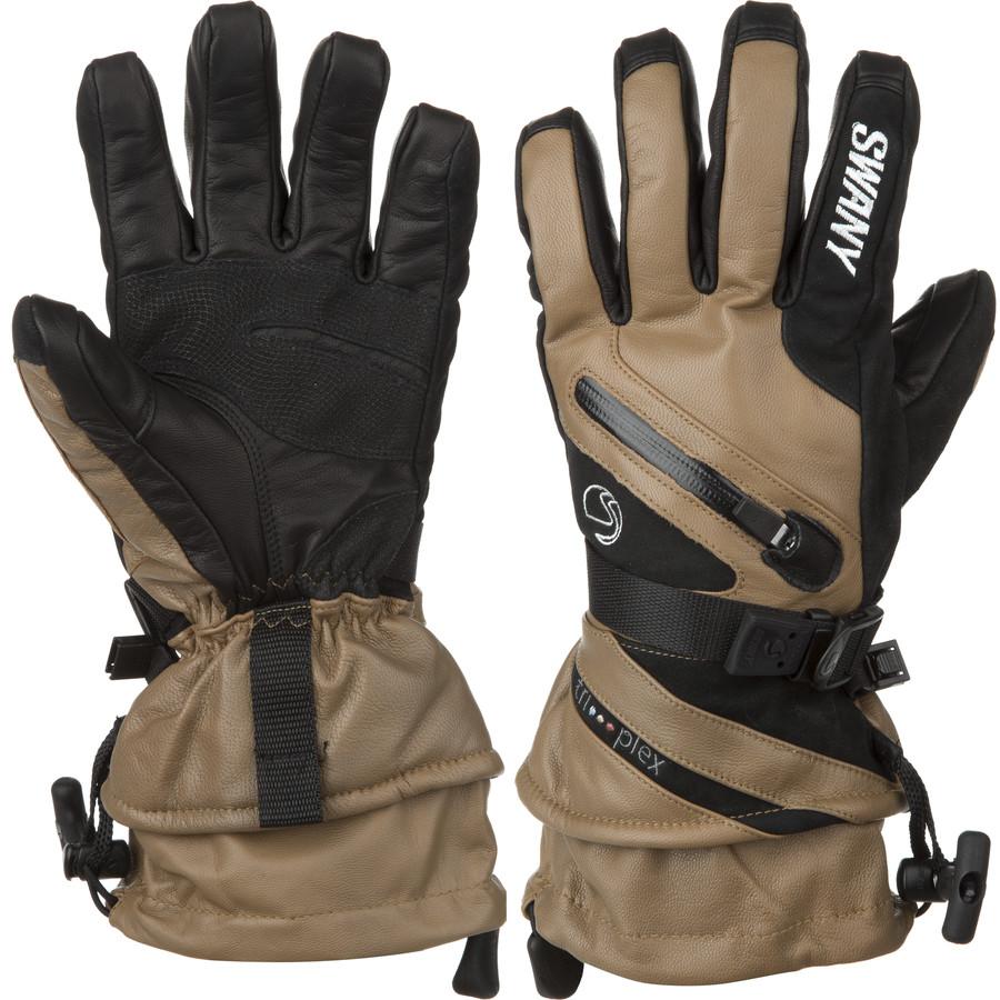 スワニー Swany メンズ スキー グローブ【X-Cell II Glove】Tan/Black
