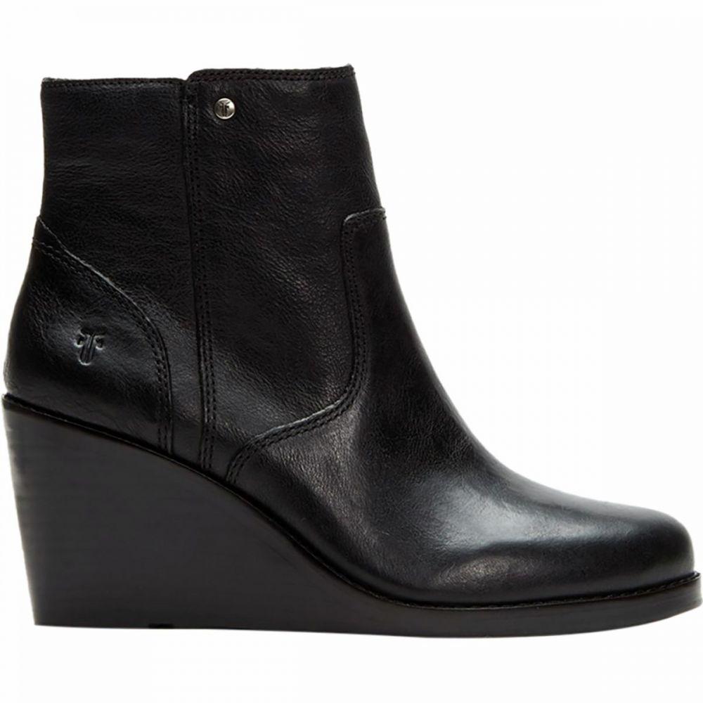 フライ Frye レディース ブーツ ウェッジソール シューズ・靴【Emma Wedge Short Boot】Black