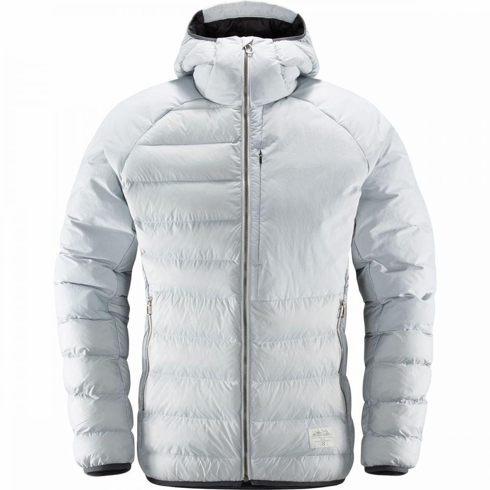 ホグロフス Haglofs メンズ ジャケット フード アウター【Dala Mimic Hooded Jacket】Stone Grey