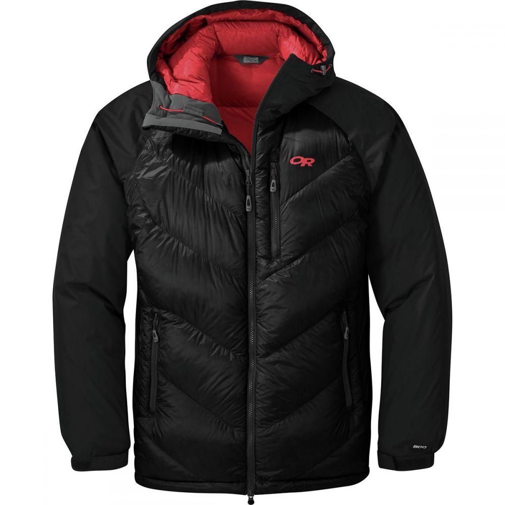 アウトドアリサーチ Outdoor Research メンズ ダウン・中綿ジャケット フード アウター【Alpine Down Hooded Jacket】Black