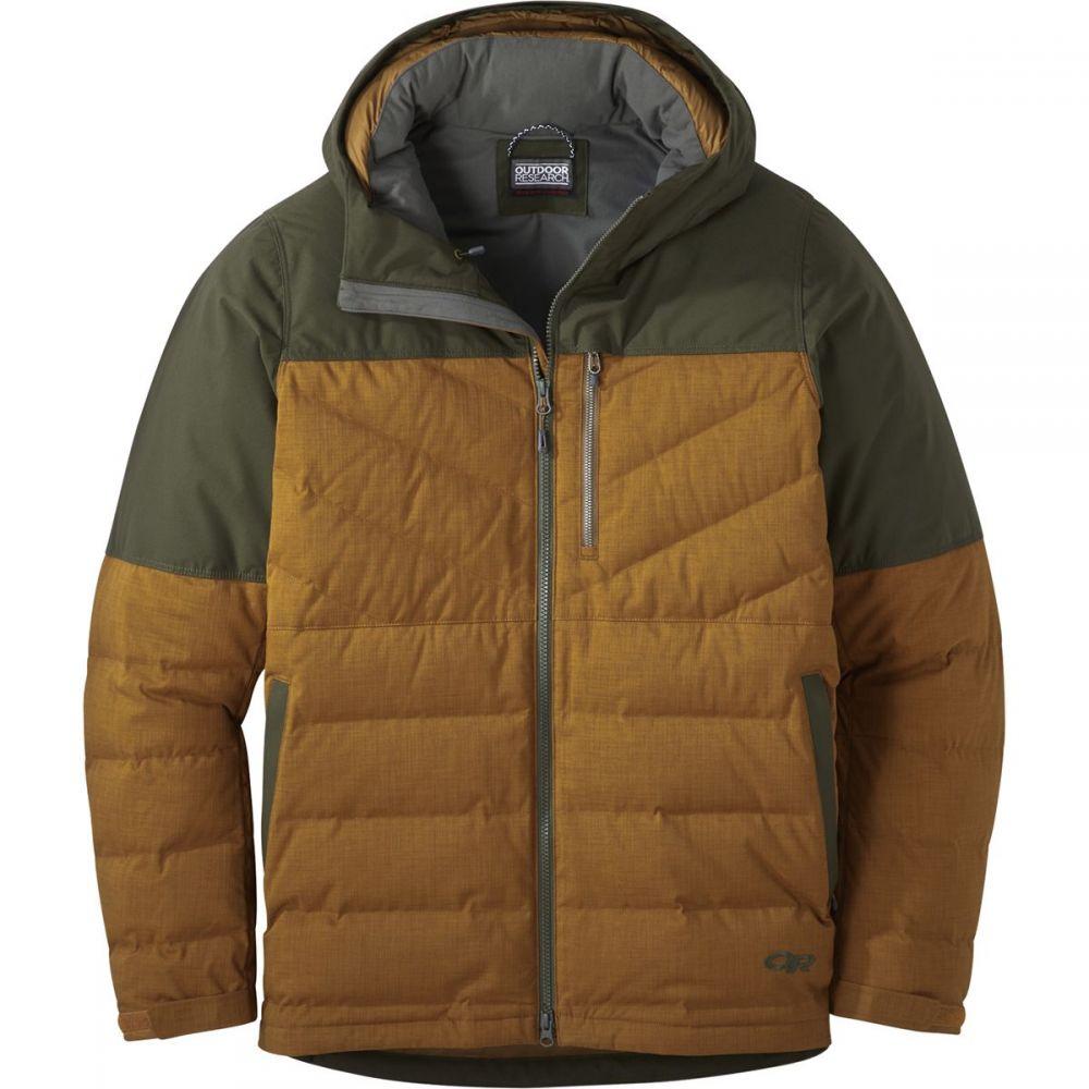 アウトドアリサーチ Outdoor Research メンズ ダウン・中綿ジャケット アウター【Blacktail Down Jacket】Saddle/Forest