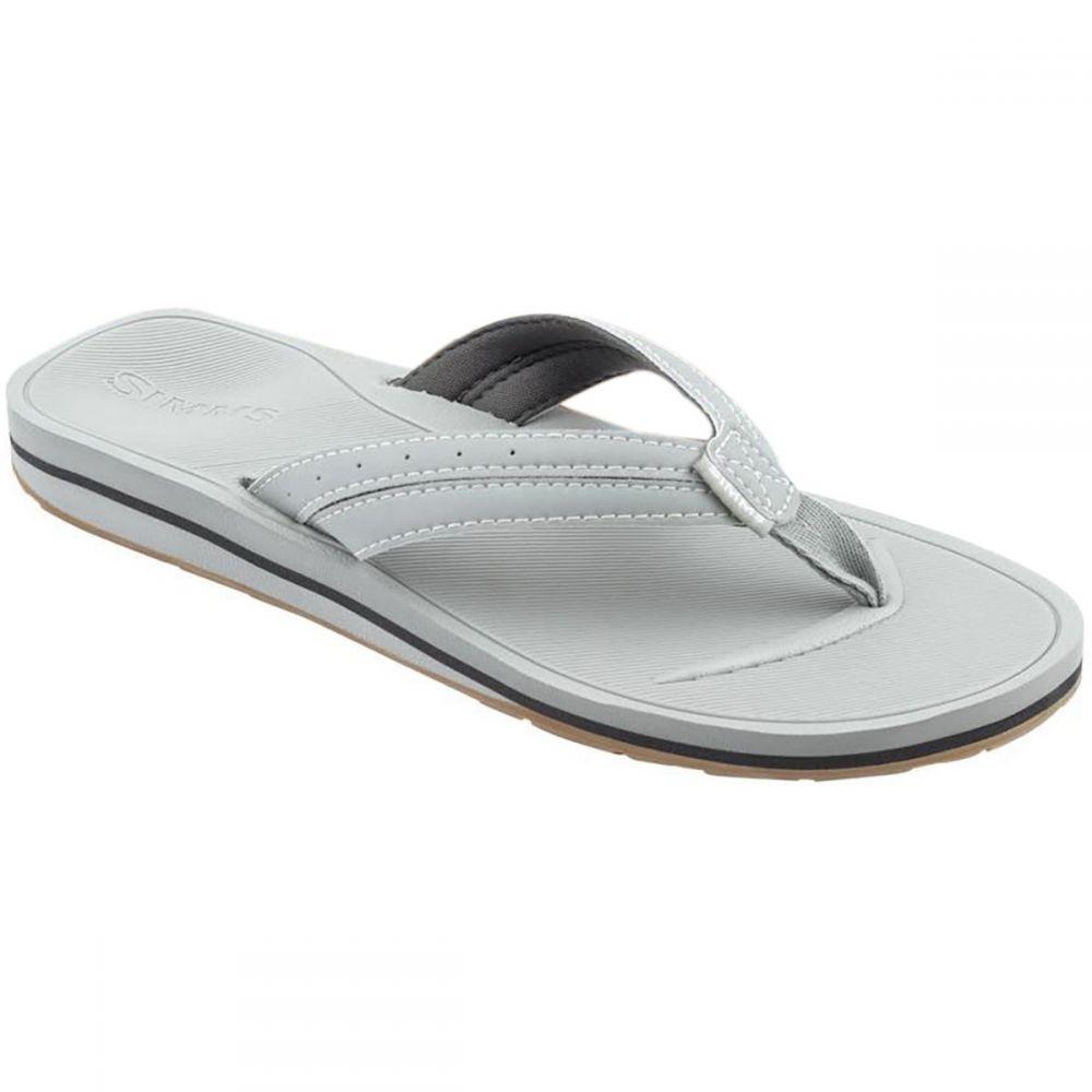 シムズ Simms レディース ビーチサンダル シューズ・靴【Drifter Flip Flop】Granite