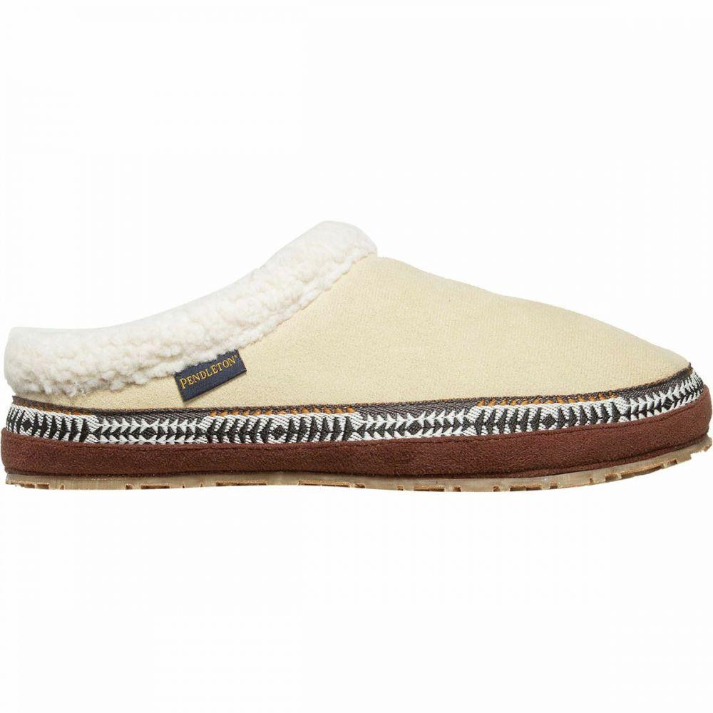 ペンドルトン Pendleton Footwear レディース スリッパ シューズ・靴【Dormer Mule Slipper】Oyster Gray
