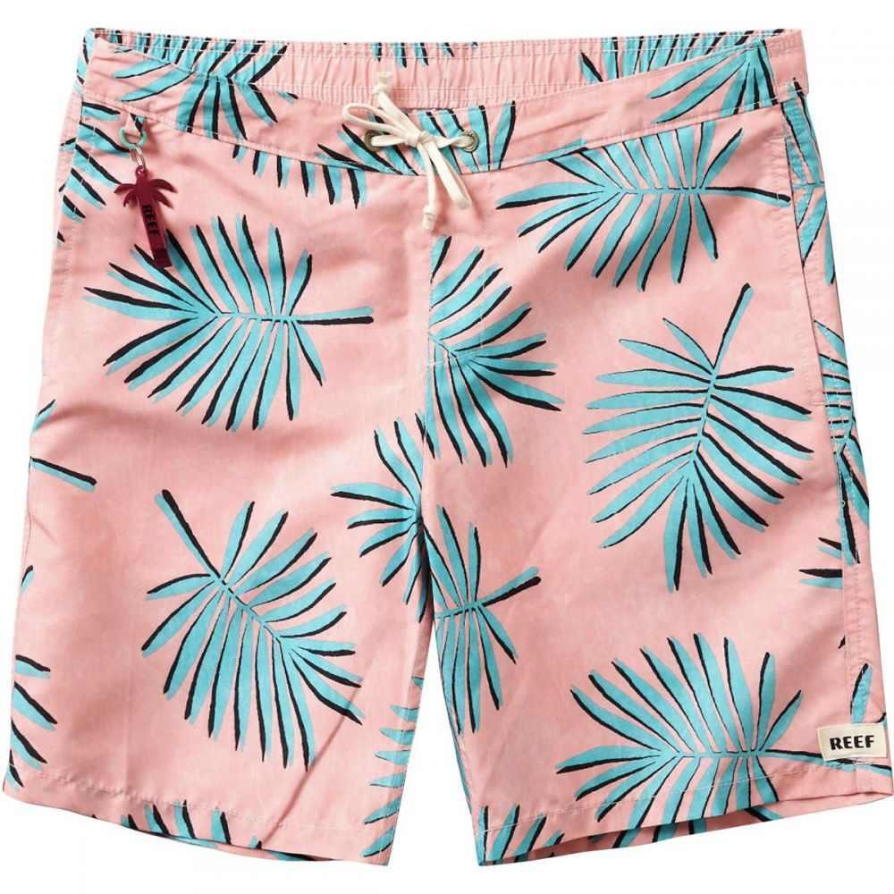 リーフ Reef メンズ 海パン 水着・ビーチウェア【Frond Swimmer Board Short】Pink