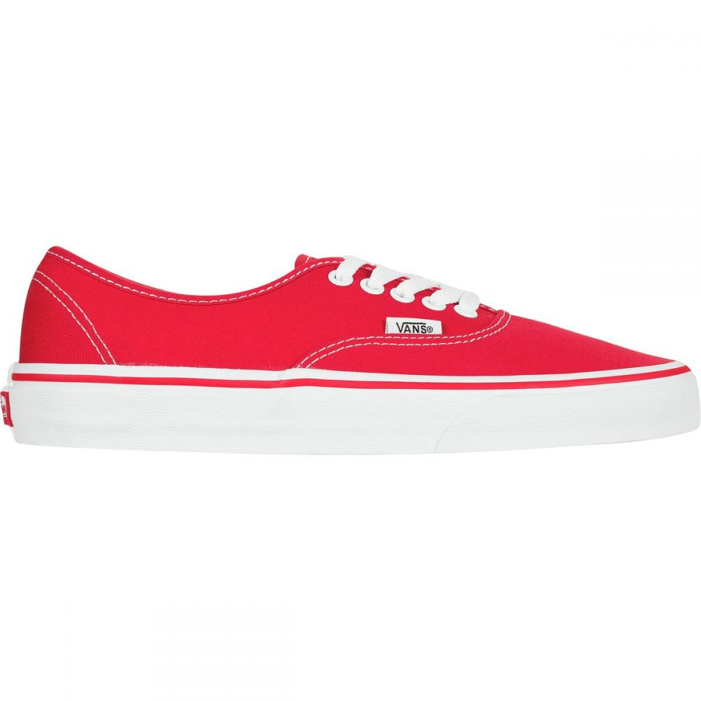 ヴァンズ Vans メンズ スニーカー シューズ・靴【Authentic Shoe】Red