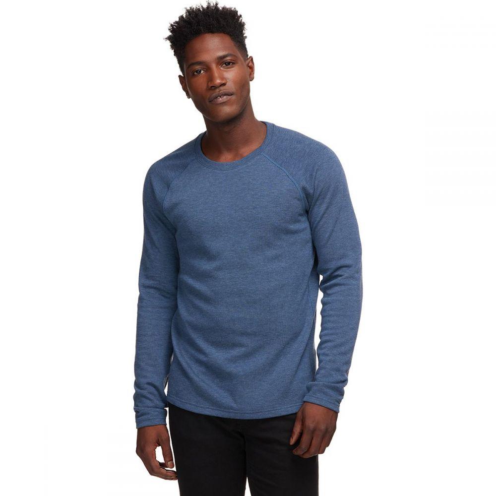 バックカントリー Backcountry メンズ 長袖Tシャツ トップス【Thermal Crew】Ensign Blue