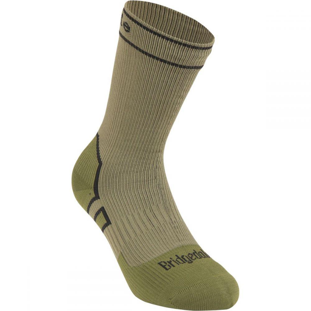 ブリッジデール レディース ハイキング 登山 その他ハイキング 登山用品 Khaki Olive Stormsock ブーツ Bridgedale 100%品質保証 ソックス Midweight サイズ交換無料 ショッピング Sock Boot
