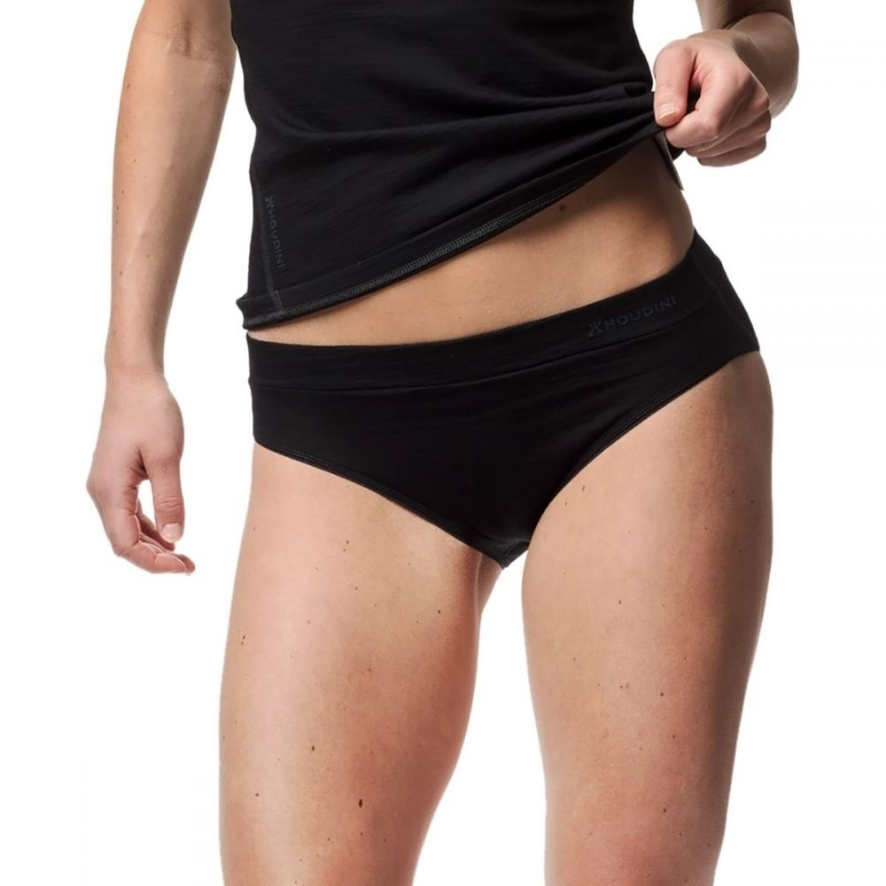 フーディニ Houdini レディース ショーツのみ インナー・下着【DeSoli Hipsters Underwear】True Black