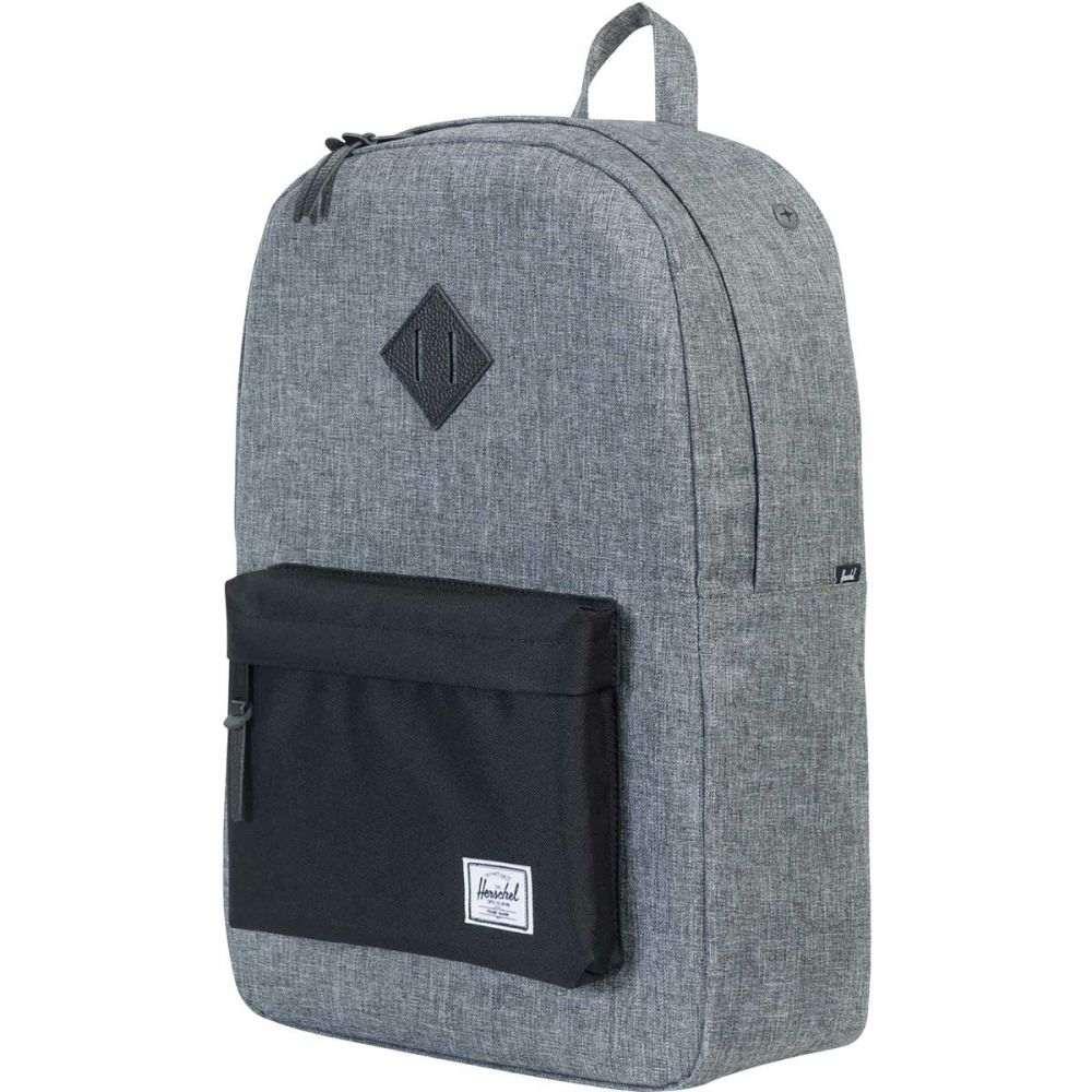 ハーシェル サプライ Herschel Supply レディース バックパック・リュック バッグ【Heritage 21.5L Backpack】Raven Crosshatch/Black