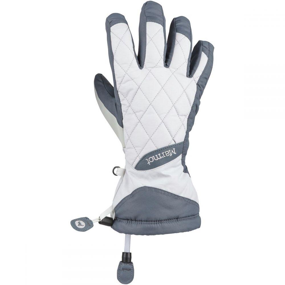 マーモット Marmot レディース 手袋・グローブ 【Moraine Glove】Steel Onyx/Bright Steel