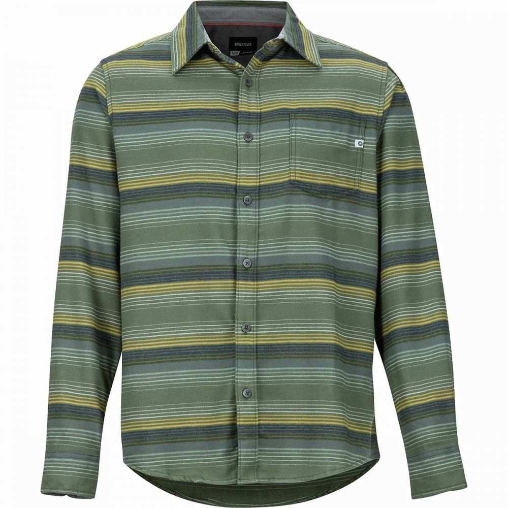 マーモット Marmot メンズ シャツ フランネルシャツ トップス【Fairfax Midweight Flannel Long - Sleeve Shirt】Golden Leaf