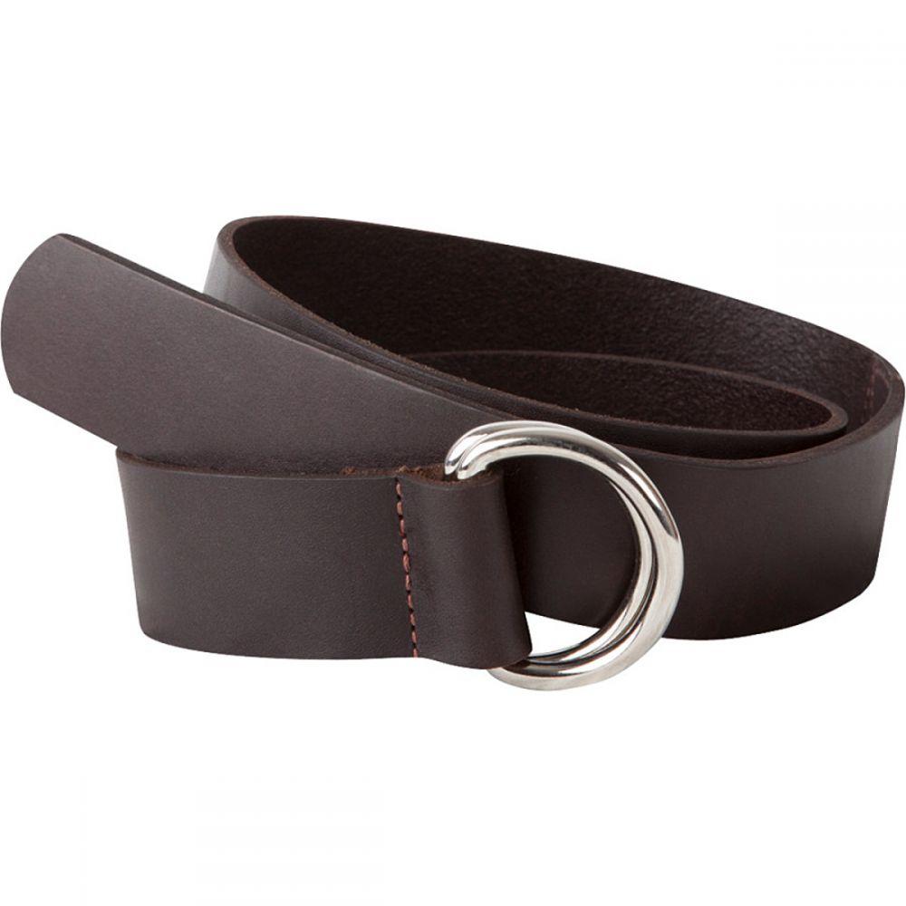 マウンテンカーキス Mountain Khakis メンズ ベルト 【Leather D - Ring Belt】Brown