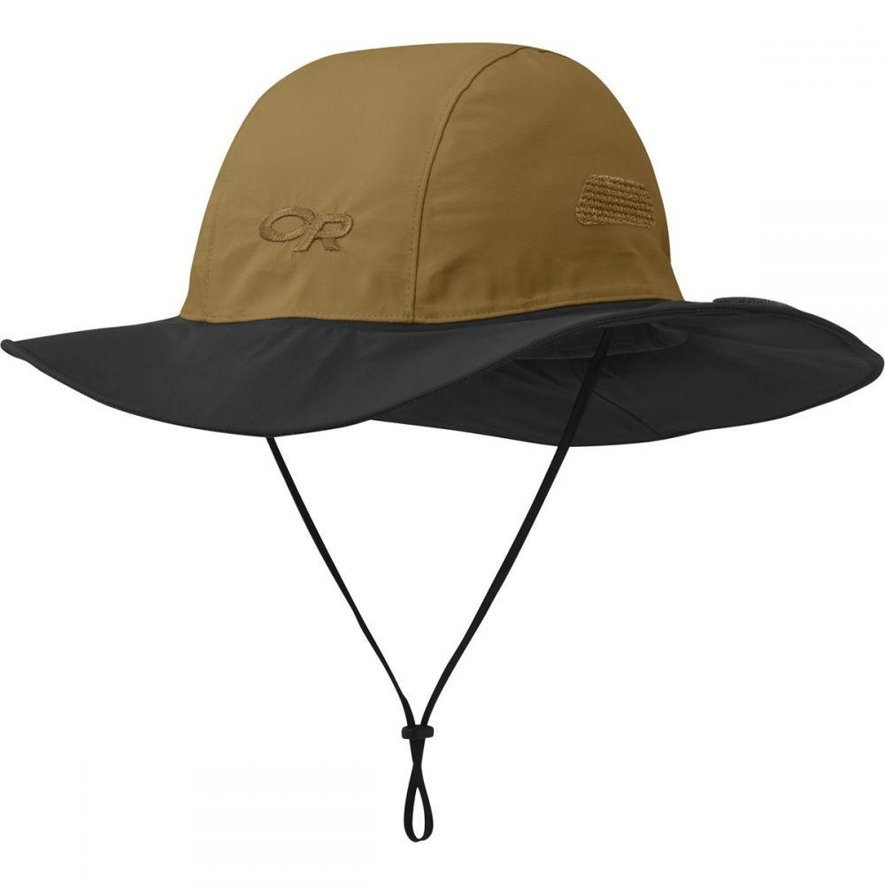 アウトドアリサーチ Outdoor Research レディース ハット ソンブレロ 帽子【Seattle Sombrero】Ochre/Black